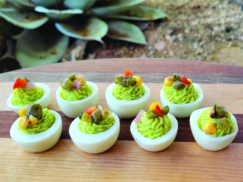 Recipe | Guacamole Deviled Eggs